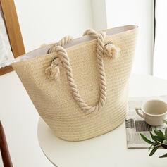 Charming/Classical/Bohemian Style/Braided Tote Bags/Beach Bags/Bucket Bags