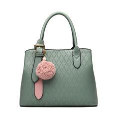 Pretty/Commuting/Solid Color Tote Bags/Crossbody Bags/Shoulder Bags/Hobo Bags