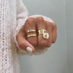 Alloy Jewelry Sets Rings (Set of 2)