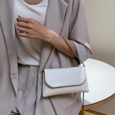 Delicate/Lichee Pattern Crossbody Bags