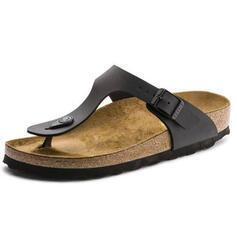 Women's PU Flat Heel Sandals Slingbacks Slippers shoes