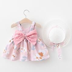 2-pieces Baby Girl Floral Print Set
