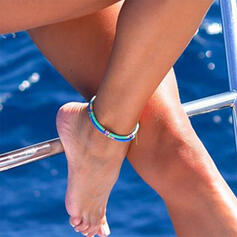 Boho Charming Alloy Beads Anklets