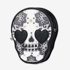 Commuting/Splice Color/Halloween/Skull Crossbody Bags/Shoulder Bags/Wallets & Wristlets/Hobo Bags