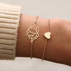 Alloy Bracelets Beach Jewelry (Set of 2)