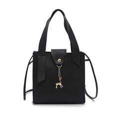 Vintga/Commuting/Solid Color/Simple Tote Bags/Crossbody Bags/Shoulder Bags/Hobo Bags
