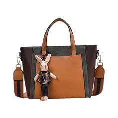 Unique/Commuting/Splice Color/Bohemian Style/Super Convenient Satchel/Tote Bags/Crossbody Bags/Shoulder Bags/Hobo Bags