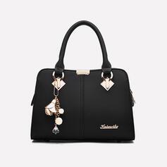 Elegant/Classical/Lichee Pattern/Alligator Pattern/Commuting Tote Bags/Crossbody Bags/Shoulder Bags
