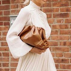 Delicate/Dumpling Shaped/Solid Color Crossbody Bags/Evening Bags