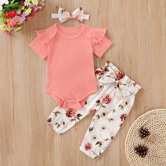 Baby Girl Ruffle Print Cotton Set