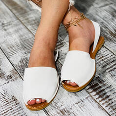 Women's PU Cone Heel Sandals Slippers With Others shoes