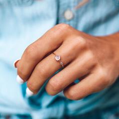 Simple Alloy Crystal Rings
