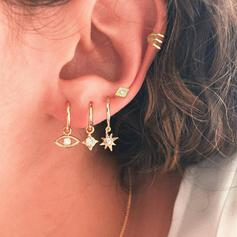 Hottest Stars Alloy With Star Eye Jewelry Sets Earrings 5 PCS
