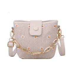 Classical/Girly/Bohemian Style/Floral/Braided Tote Bags/Crossbody Bags/Shoulder Bags/Bridal Purse/Beach Bags/Bucket Bags