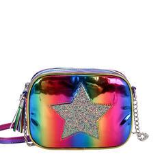 Shining/Colorful/Cute/Vintga/Star/Puffy Crossbody Bags/Shoulder Bags/Bucket Bags/Evening Bags