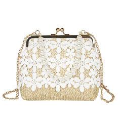 Unique/Refined/Special/Dreamlike/Vintga/Commuting/Splice Color Clutches/Crossbody Bags/Shoulder Bags