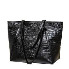 Alligator Pattern/Commuting/Travel/Super Convenient Satchel/Tote Bags/Crossbody Bags/Shoulder Bags/Hobo Bags