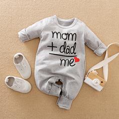 Baby Print Cotton Jumpsuit