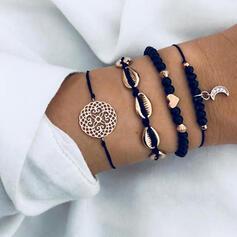 Alloy Bracelets Beach Jewelry (Set of 4)