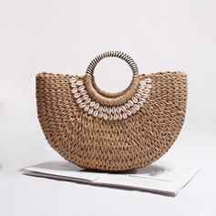 Unique/Refined/Vintga/Bohemian Style/Braided/Super Convenient/Handmade Tote Bags/Beach Bags/Bucket Bags/Hobo Bags
