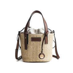 Elegant/Commuting/Bohemian Style/Braided Crossbody Bags/Shoulder Bags/Beach Bags/Bucket Bags
