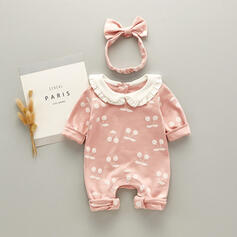 2-pieces Baby Girl Print Cotton Set