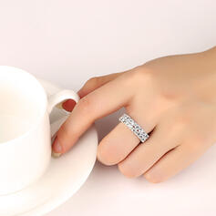 Fashionable Classic Alloy With Rhinestones Rings