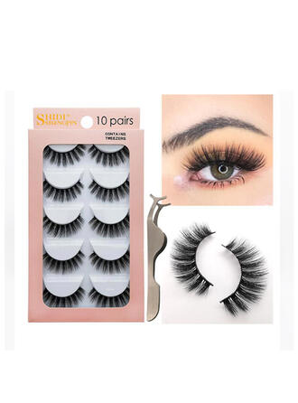 5-pairs Sexy Eyelash Lace Mink With PVC Bag