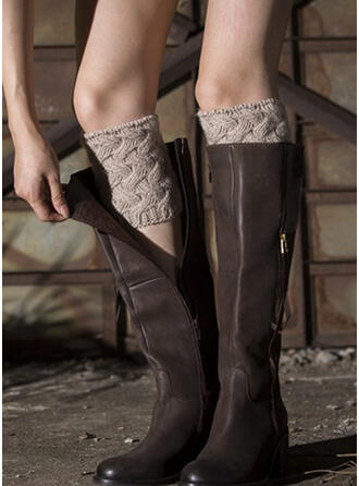 Solid Color Breathable/Comfortable/Women's/Leg Warmers/Boot Cuff Socks Socks