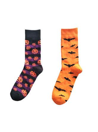 Comfortable/Halloween/Pumpkin/Bat Shaped Socks (Set of 2 pairs)