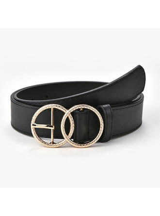 Stylish Attractive Charming Pretty Elegant Artistic Delicate Leatherette Women's Belts 1 PC