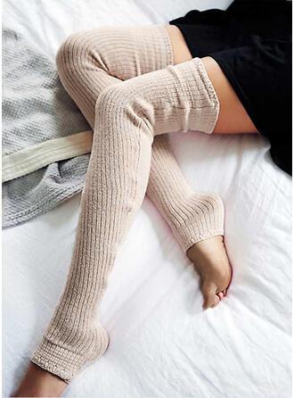 Solid Color Warm/Breathable/Comfortable/Women's/Knee-High Socks Socks/Stockings
