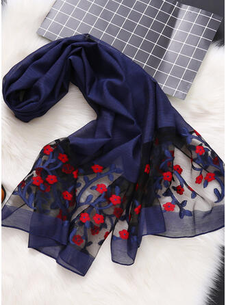 Bohemia/Stitching/Leaves Light Weight/Comfortable/Skin-Friendly Scarf
