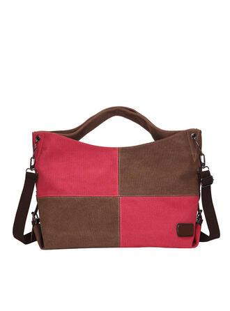 Fashionable/Solid Color/Splice Color Tote Bags/Crossbody Bags