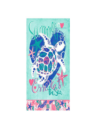 Solid Color/Color Block/Graphic Prints Light Weight/Multi-functional/Sand Free/Quick Dry Beach Towel