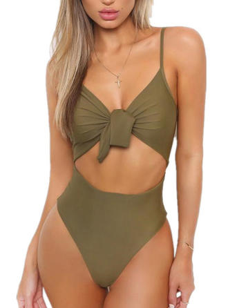 Monokini String Strap Sexy One-piece Swimsuits