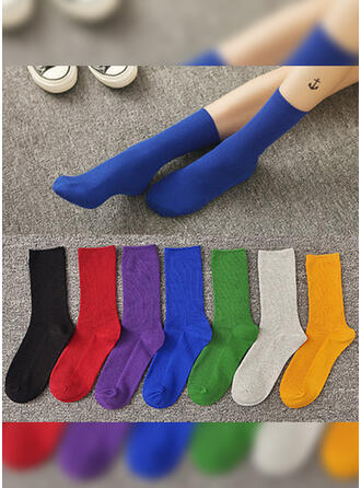 Solid Color/Colorful Breathable/Comfortable/Crew Socks Socks