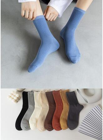 Solid Color Warm/Comfortable/Crew Socks Socks