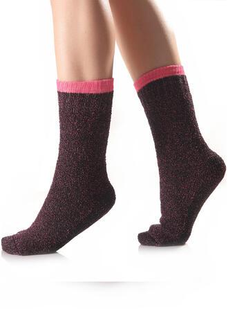Gradient color/Stitching Warm/Breathable/Comfortable/Crew Socks Socks