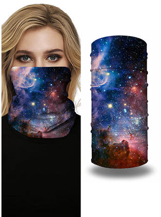Breathable/Protective/Full Coverage/Multi-functional/Sky Print/Seamless/Dust Proof Bandanas
