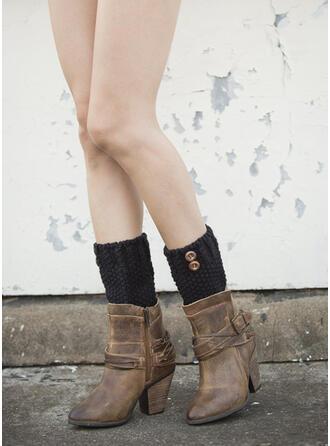 Solid Color Comfortable/Leg Warmers/Boot Cuff Socks Socks
