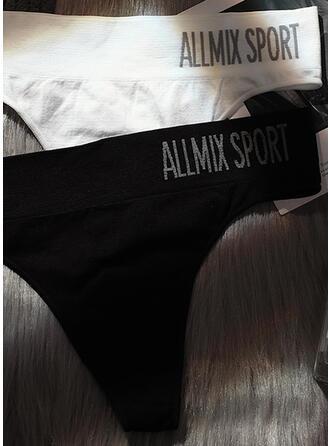 Plain Print Brief Panty
