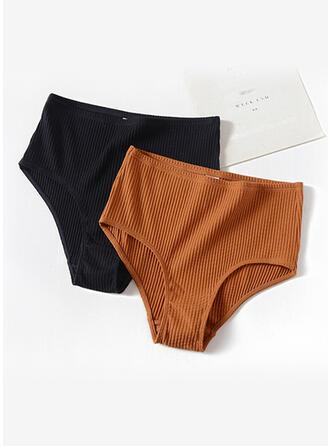Striped Ruffles Brief Panty