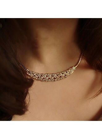 Vintage Simple Link & Chain Alloy Necklaces