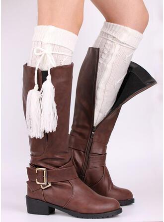 Solid Color/Tassel Cold weather/Comfortable/Knee-High Socks Socks/Stockings