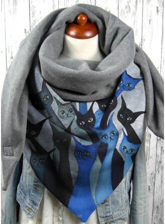 Animal fashion/Skin-Friendly/Black Cat Scarf