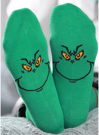 Print/Animal Print/Colorful Comfortable/Christmas/Crew Socks Socks
