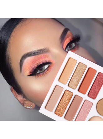 8-color Eyeshadow Mascara With Box