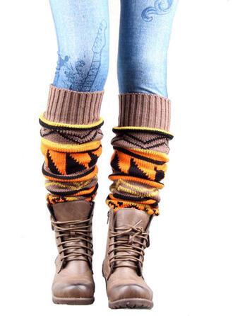 Retro/Vintage/Stitching/Geometric Comfortable/Leg Warmers/Boot Cuff Socks/Knee-High Socks Socks/Stockings