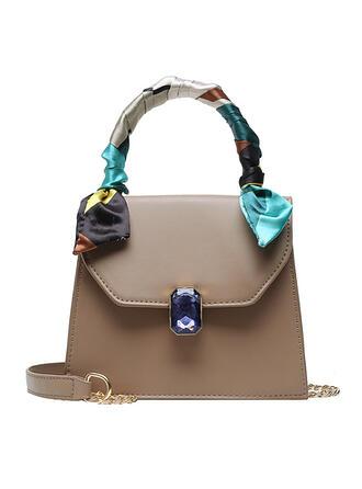 Classical/Killer/Commuting/Solid Color Tote Bags/Shoulder Bags